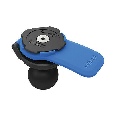 """AU34.90 • Buy Quad Lock® Ram Mount Phone  1"""" Ball Adaptor  Holder Motorcycle Scooter Bicycle"""
