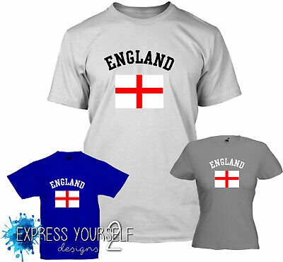£7.99 • Buy ENGLAND - T Shirt, ST GEORGE , RUGBY , FOOTBALL