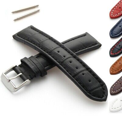 Alligator Grain Calf Leather Watch Strap • 14.95£