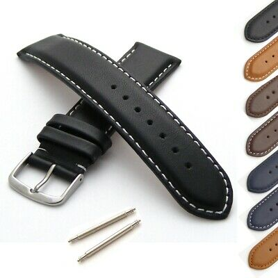 Calf Leather Watch Strap M Or XL Length • 12.95£