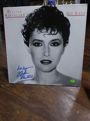 Melissa Manchester Autographed Hey Ricky Album Cover Pinpoint COA (No Record) • 35.76£