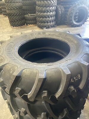 AU980 • Buy NEW 16 Ply STEEL ARMOR 16.9x28 FORESTRY LS2 Tractor Tyres 16.9-28 Tubeless