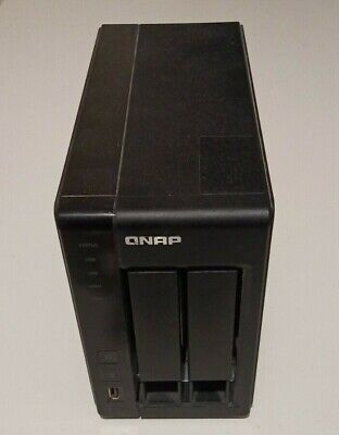 $ CDN250 • Buy QNAP TS-219P II 2-Bay All-In-One NAS Media Server WITH Hard Drives 2x 2TB