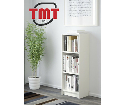 Brand New IKEA BILLY Bookcase, White 40 X 28 X 106 Cm 2 Shelves Included • 33.98£