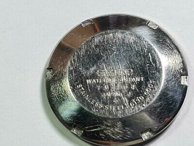 $ CDN186.64 • Buy Genuine Case Back Cover Seiko Pogue 6139-6005 Water Resistant Year 1977 March