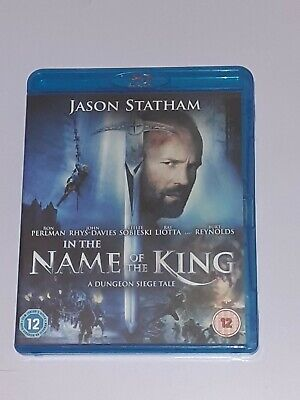 In The Name Of The King - A Dungeon Siege Tale Blu-ray (2008) Jason Statham, • 2.99£