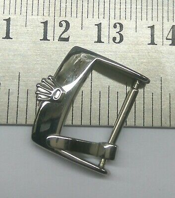 $ CDN34.54 • Buy Vintage Rolex Watch 16mm Stainless Steel Buckle For Parts Used For Watchmakers