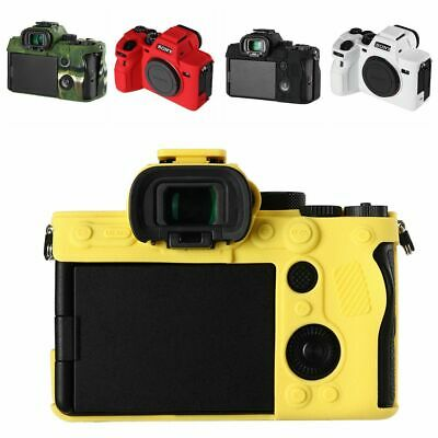 $ CDN25.30 • Buy A7S III Rubber Silicone Case Body Cover For Sony Alpha 7S III ILCE-7SM3 A7SM3