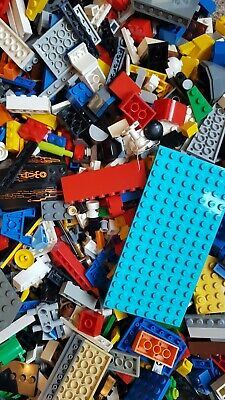 £17.49 • Buy Lego 1KG -1000g Mixed Bricks Parts Pieces Starter Pack *Free Post + Minifigure*