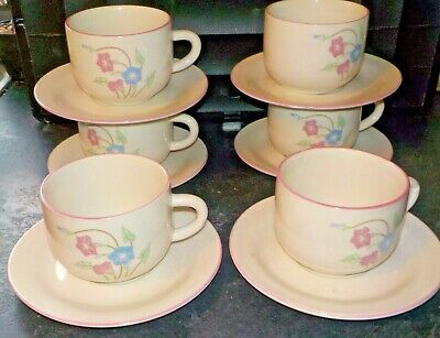 £5.99 • Buy Crown Dynasty Cups And Saucers X 6