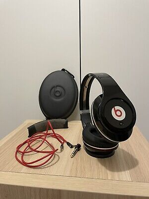 Monster Beats By DR. Dre Studio Wired Headphones Black 190003-00 • 25£