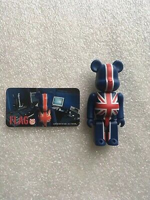 $70.53 • Buy Union Jack 100% Bearbrick Be@rbrick Series 2 S2 Flag Medicom Toy Rare