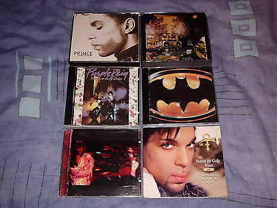 Prince 4 Cd Albums The Hits The B Sides Sign Of The Times Purple Rain + 2 Free  • 49.99£