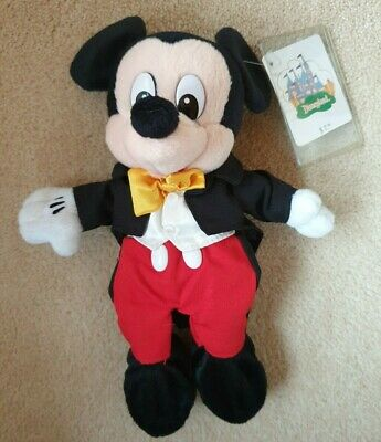 £9 • Buy Disneyland California Exclusive Mickey Mouse Park Costume Beanie Bean Bag Toy