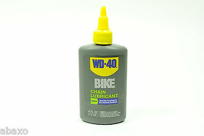 $ CDN12.44 • Buy WD40 Bicycle Chain Lubricant Dry Conditions Bike Lube 4oz Drip Bottle WD-40