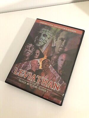 DVD 3 Disc Box Set  LEVIATHAN Story Of Hellraiser & Hellbound COLLECTORS LIMITED • 59.95£