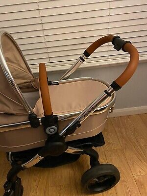 ICandy Peach 2017 Butterscotch. 2in1 Travel System Pushchair Pram 4th Generation • 300£