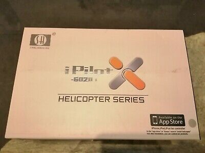I PILOT -  6020i 3.5CH RC HELICOPTER  Controlled By IPHONE,IPAD  Or IPOD • 25£