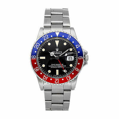 $ CDN17613.28 • Buy Rolex GMT-Master Pepsi Automatic 40mm Steel Mens Oyster Bracelet Watch Date 1675