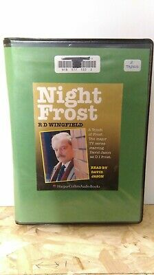 Night Frost By R.D. Wingfield: Cassette Audiobook  • 10£
