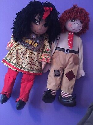 £180 • Buy Vintage Very Traditional Clean Condition , Rosie & Jim Dolls