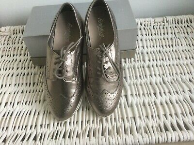 Marks And Spencer Footglove Trainer Style Lace-up Ladies Shoes - UK Size 5 • 15£