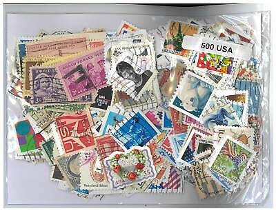AU30 • Buy USA - 500 Different Stamps Mixed In Bag Used