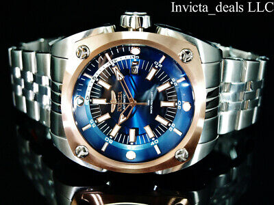 $ CDN120.26 • Buy NEW Invicta Men's 48mm RESERVE AUTOMATIC NH35 BLUE DIAL Silver Tone SS Watch