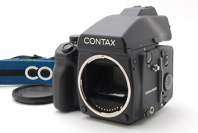$ CDN2911.67 • Buy 【N.MINT】Contax 645 W/AE Finder MF-1 + 120/220 Film Back MFB-1 From JAPAN A62