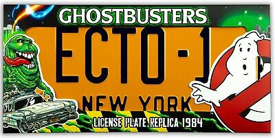 AU41.82 • Buy Ghostbusters: ECTO-1 - 1/1 License Plate Replica