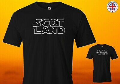 £12.99 • Buy Scotland Star Wars Scot Land Knight T Shirt - From Age 2-3 Up To 5XL