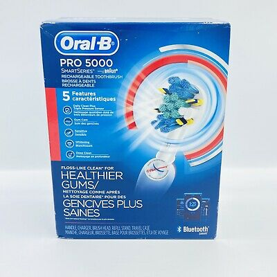 AU120.12 • Buy Oral-B Pro 5000 SmartSeries Rechargeable Electric Toothbrush Bluetooth