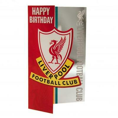 Liverpool FC Birthday Card Official Merchandise NEW UK • 3.15£