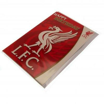 Liverpool FC Musical Sound Birthday Card Official Merchandise NEWUK • 5.95£