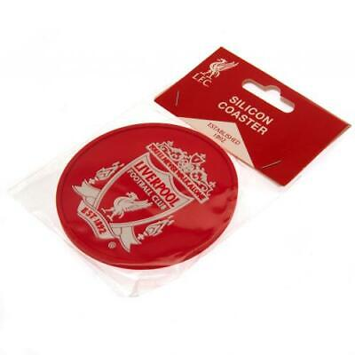 Liverpool FC Silicone Coaster Official Merchandise UK NEW • 4.49£