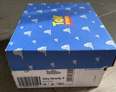 £11.99 • Buy Clarks Toy Story City Howdy Pink Trainers Size 6 With Box