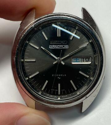 $ CDN126.44 • Buy Vintage Seiko 5 Actus 7019-7070 Automatic 21Jewels Black Dial Mens Watch