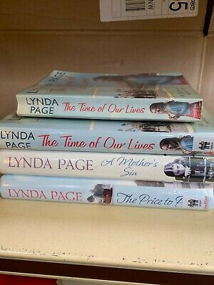 £11.50 • Buy Job Lot Collection Of 4 Lynda Page Adult Fiction Books