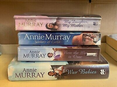 Job Lot Collection Of 4 Annie Murray Adult Fiction Books • 10.50£
