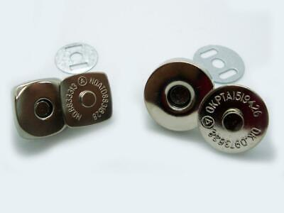 £2.99 • Buy Magnetic Snap Fasteners Closures & Buttons Purse & Bag Sewing Leather Findings