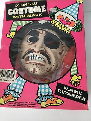 $ CDN27.77 • Buy Vintage Collegeville Halloween Costume Pirate Child Boxed