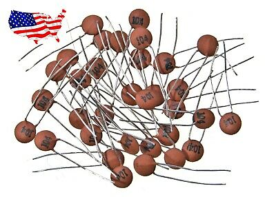 $2.95 • Buy ' 50V 104 100nF 0.1uF (20 Pcs) Ceramic Disk Capacitor - From USA