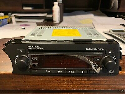 AU196.63 • Buy Sangyong Radio From A 2008 SSangyong Actyon Sports