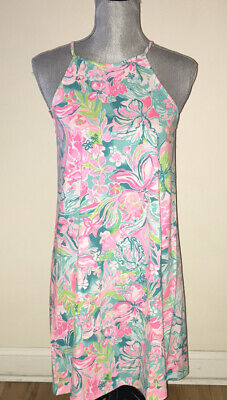 $71.76 • Buy LILLY PULITZER Margot Dress HOT ON THE SCENE Size XS S M L ($108) NWT Resort