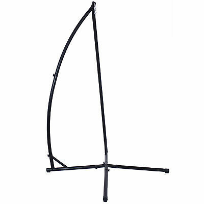 Sunnydaze X-Stand For Hanging Hammock Chairs Black Powder-Coated Steel Frame • 93.34£