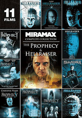 The Prophecy & Hellraiser-Complete Collection (DVD, 11 FILM SET) • 14.14£