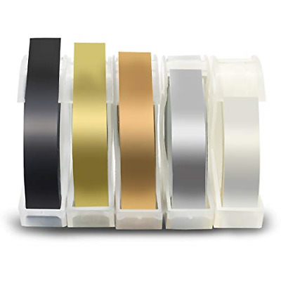 £10.64 • Buy Fentec Compatible Label Tape Replacement For Dymo 3D Embossing Tape Multi-Colors
