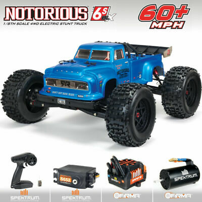 New Arrma 2021 1/8 Scale V5 Notorious 6S BLX Truggy RC Truck RTR Ready To Run • 407.69£