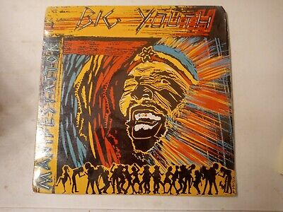Big Youth ‎– Manifestation - Vinyl LP 1988 • 10.85£