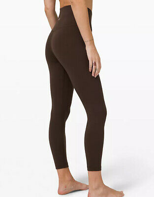 "$ CDN125 • Buy Lululemon Align HR 25"" Rare French Press Brown Sold Out Leggings NWT Size 12"